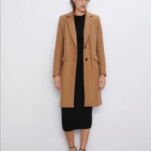 Zara women's masculine coat